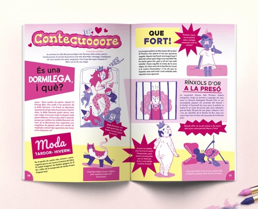 Interior revista Namaka número 10