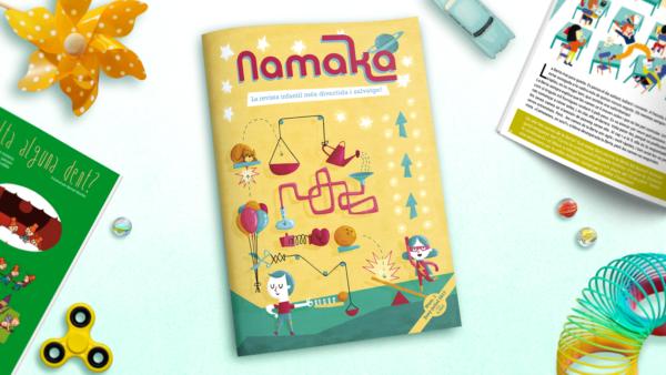Portada revista Namaka número 1