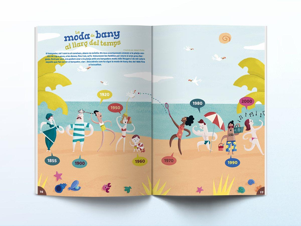 Interior de la revista Namaka número 2