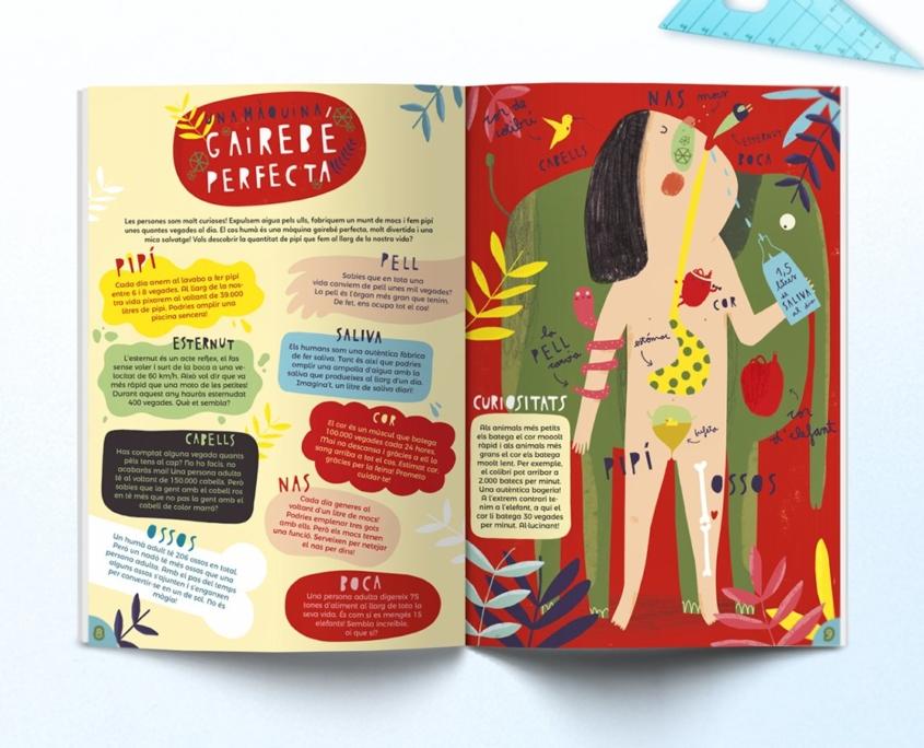 Interior de la revista Namaka número 5
