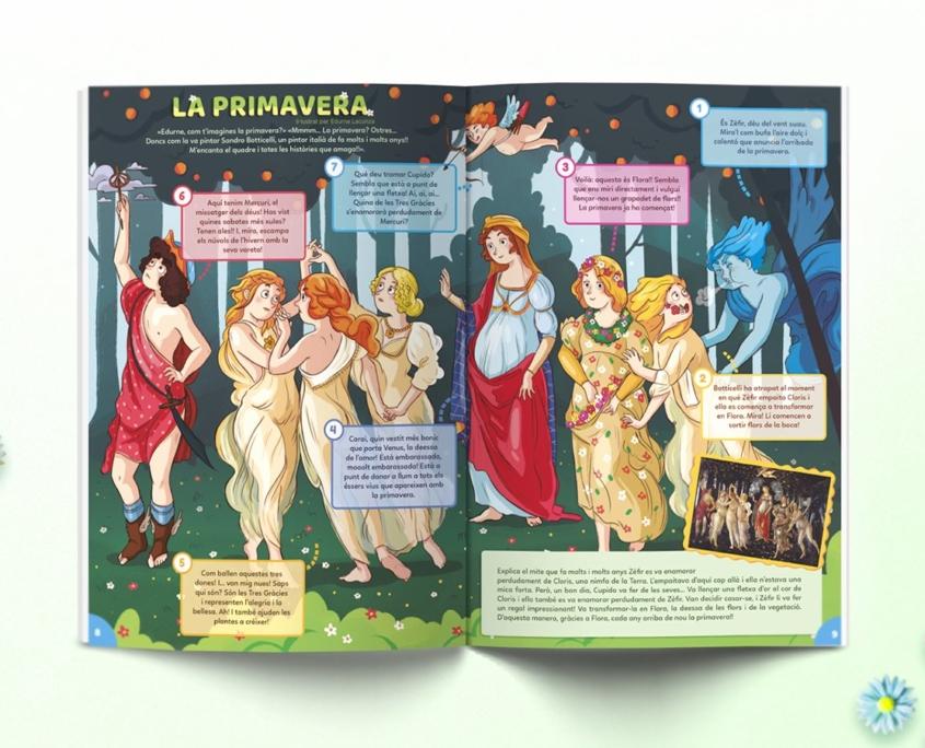 Interior revista Namaka número 6