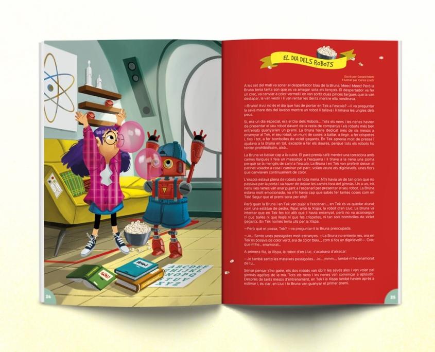 Interior de la revista Namaka número 7