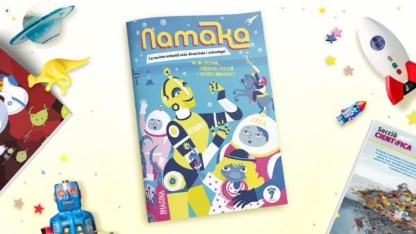 Portada revista Namaka número 7