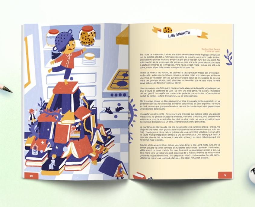 Interior revista Namaka número 9