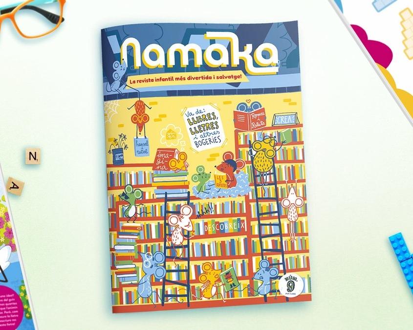 Portada revista Namaka número 9