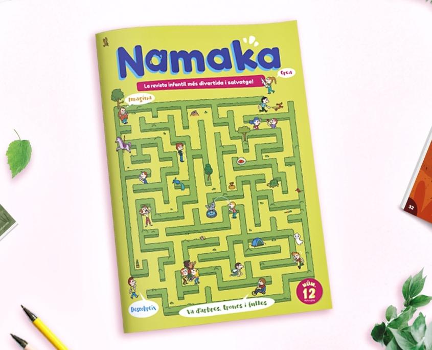 Portada de la revista Namaka númer 12