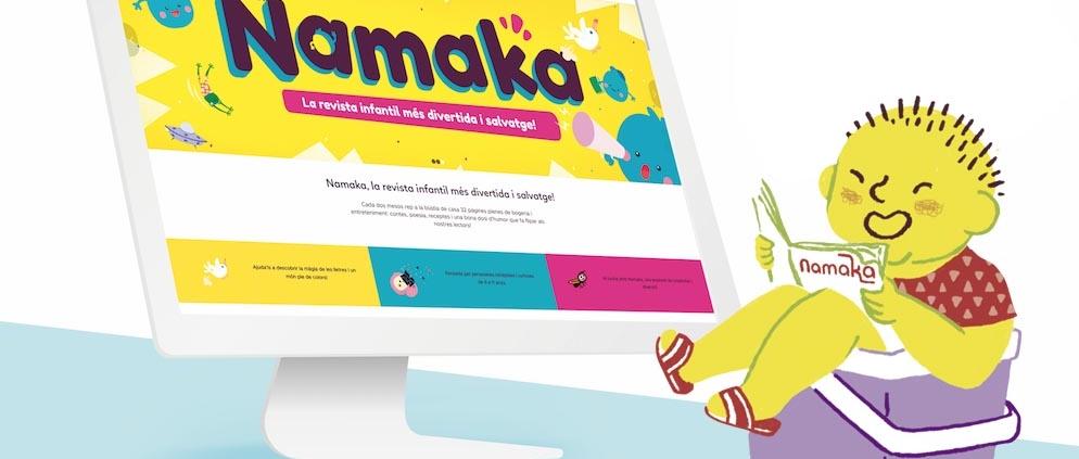Revista Namaka. Subscripción paper i digital.