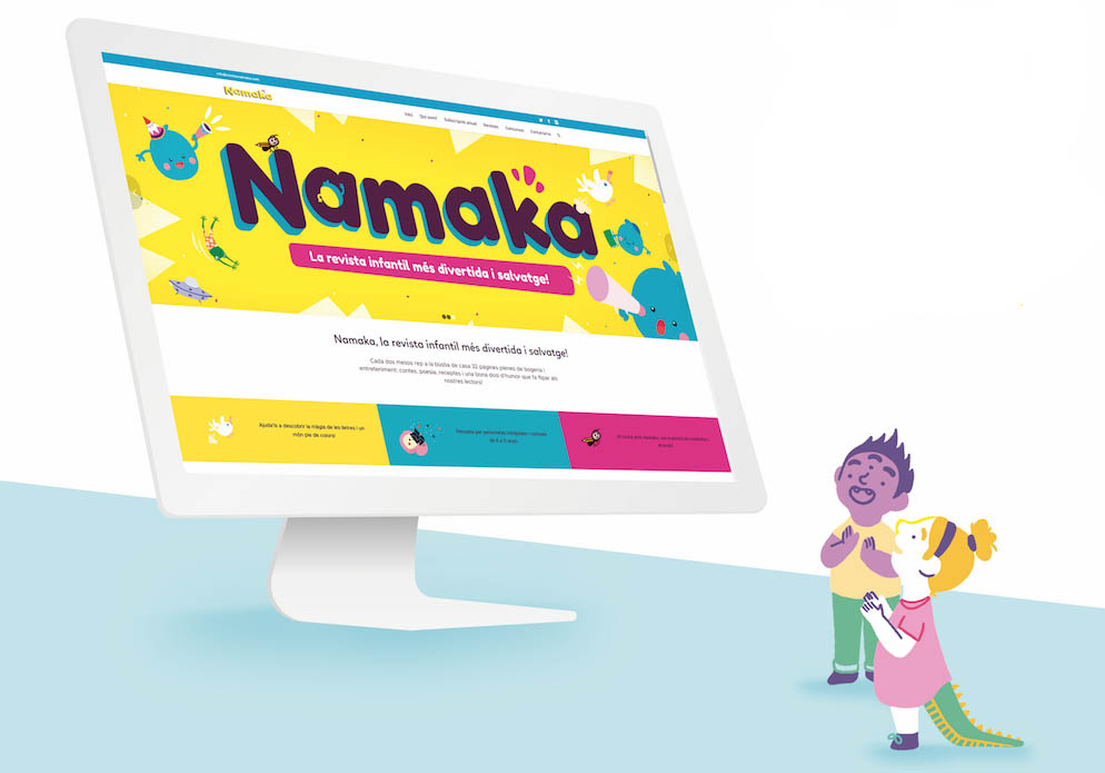 Subscripció revista Namaka en format digital
