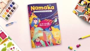 Portada de la revista Namaka número 10