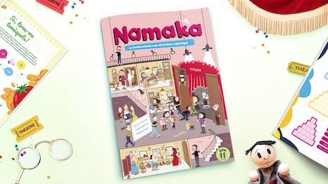 Portada de la revista Namaka número 11