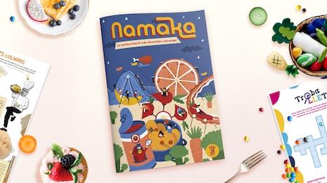 Portada de la revista Namaka número 3
