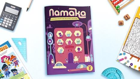 Portada de la revista Namaka número 5