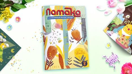 Portada de la revista Namaka número 6