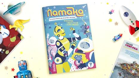 Portada de la revista Namaka número 7