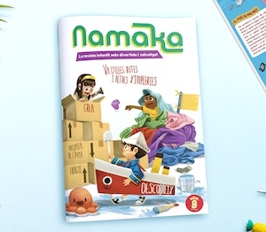 Portada de la revista Namaka número 8