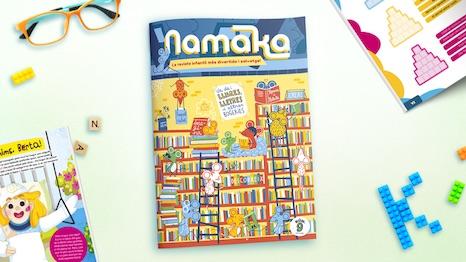 Portada de la revista Namaka número 9