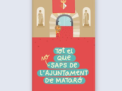 Material didàctic per dinamitzar les visites escolars a l'Ajuntament de Mataró