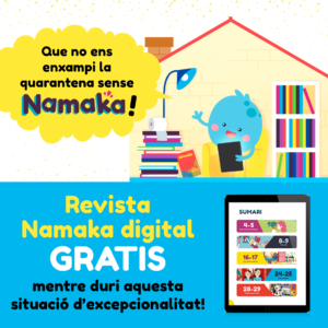 Revista infantil Namaka - Confinament