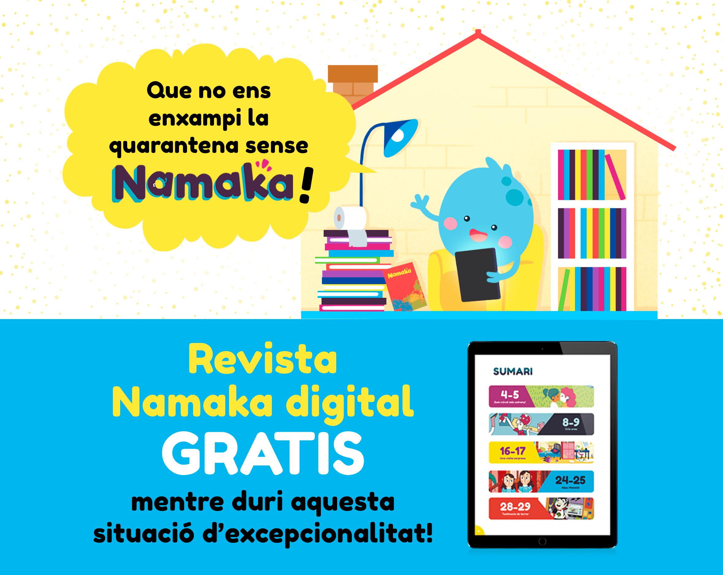 Revista infantil Namaka - Confinament