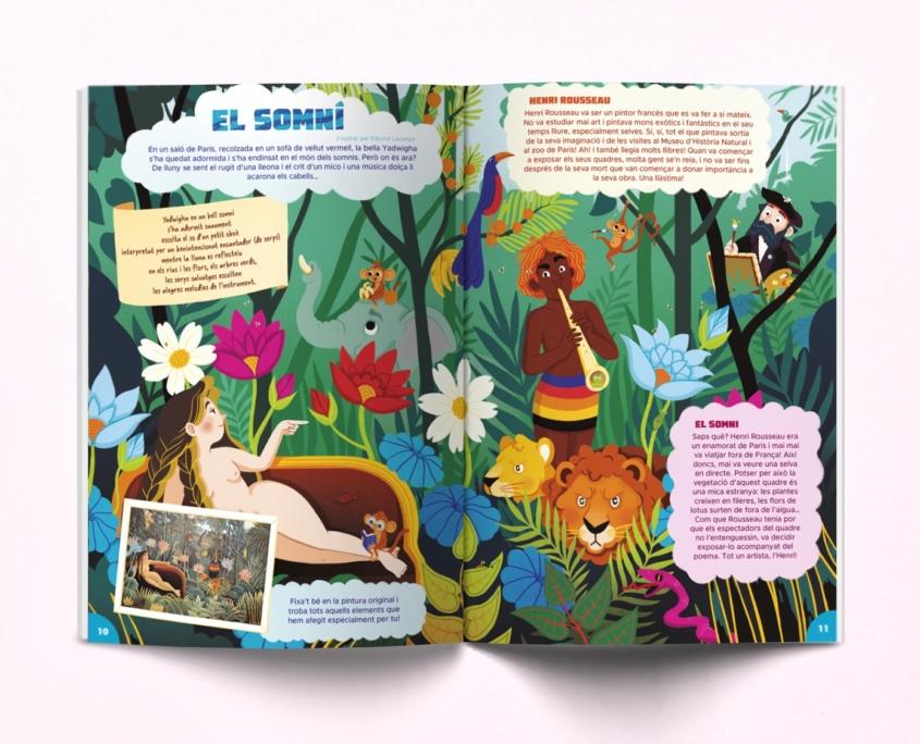 interior de la revista Namaka 12