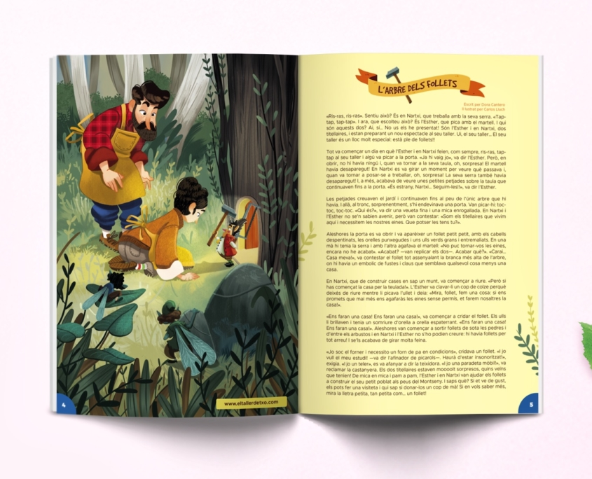 conte de la revista Namaka 12