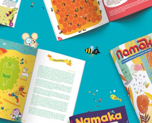 La revista Namaka als mijans de comunicació