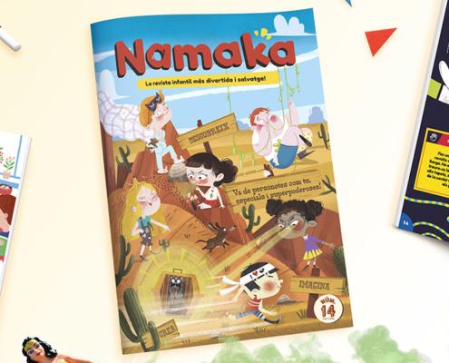 portada Namaka núm. 14