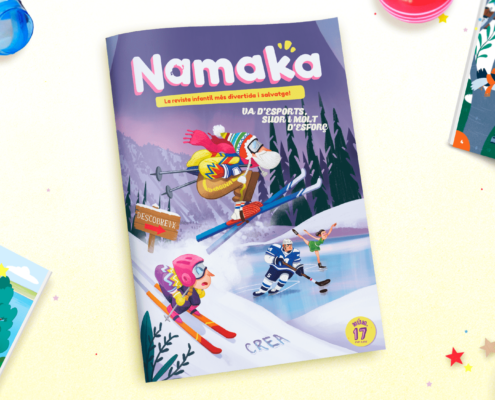 Revista infantil Namaka - Revista n. 17