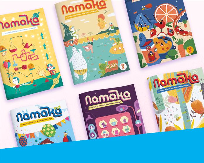 Lot del primer any a la Revista Namaka - Revista infantil