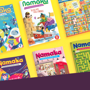 Lot del segon any a la revista infantil Namaka